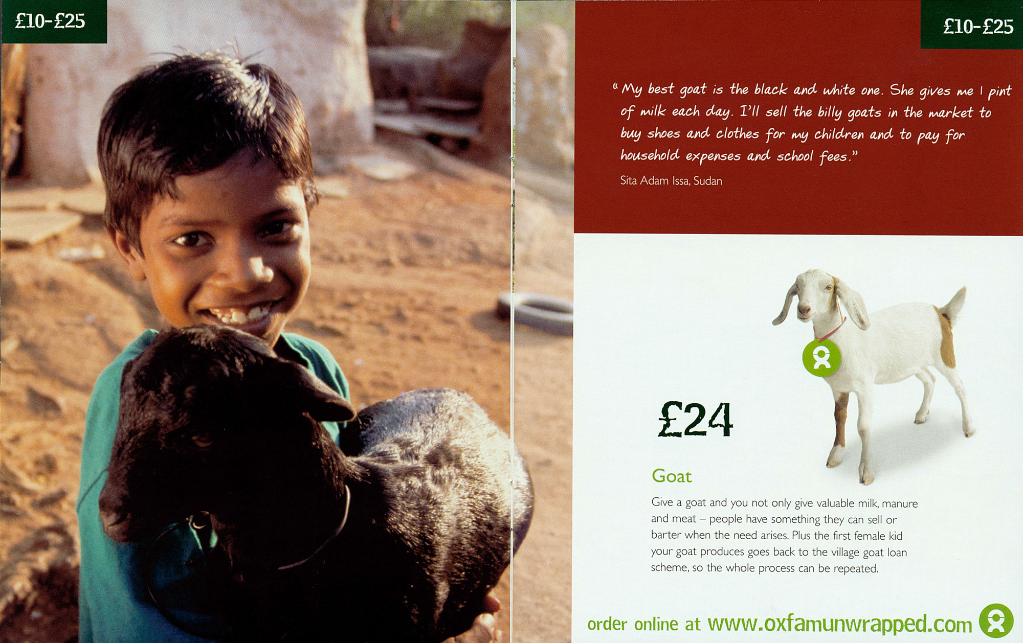 Stories That Sell Client Work: Oxfam 2