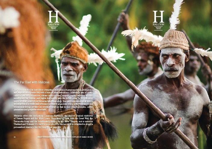 Papua New Guinea warriors