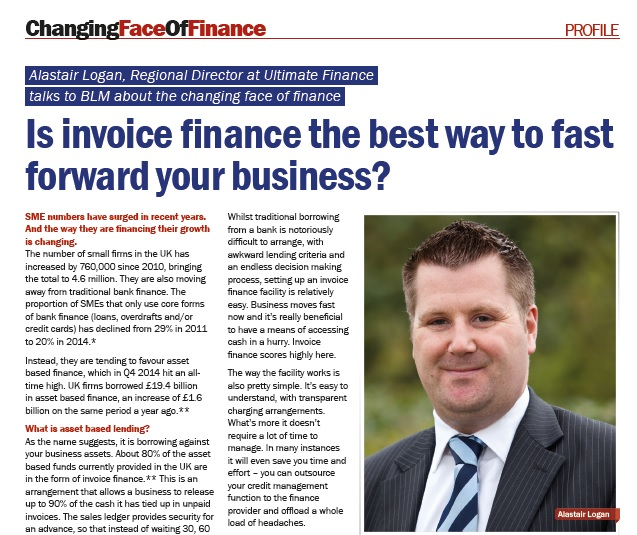 Changing Face of Finance article