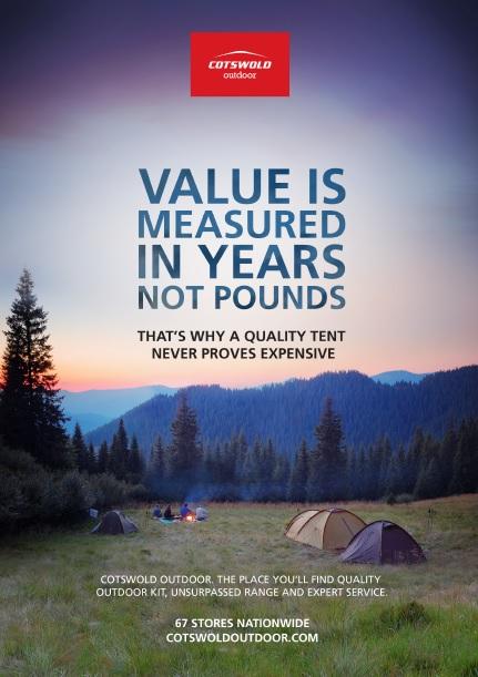Tent value