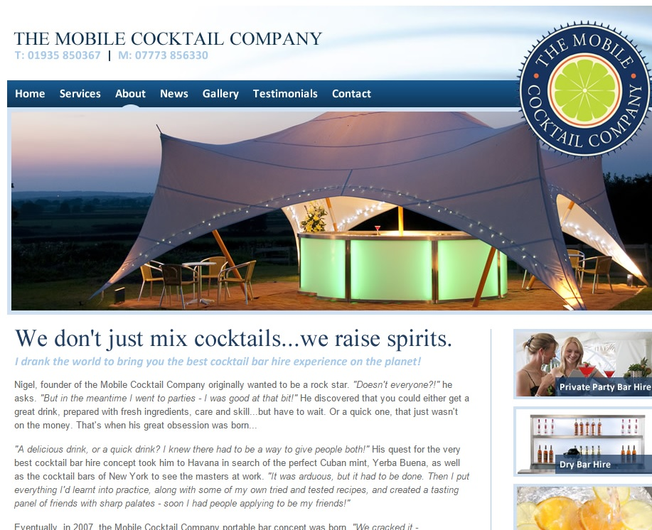 Mobile Cocktail Company about us