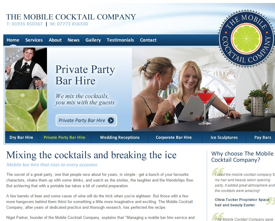 Mobile Cocktail Company home