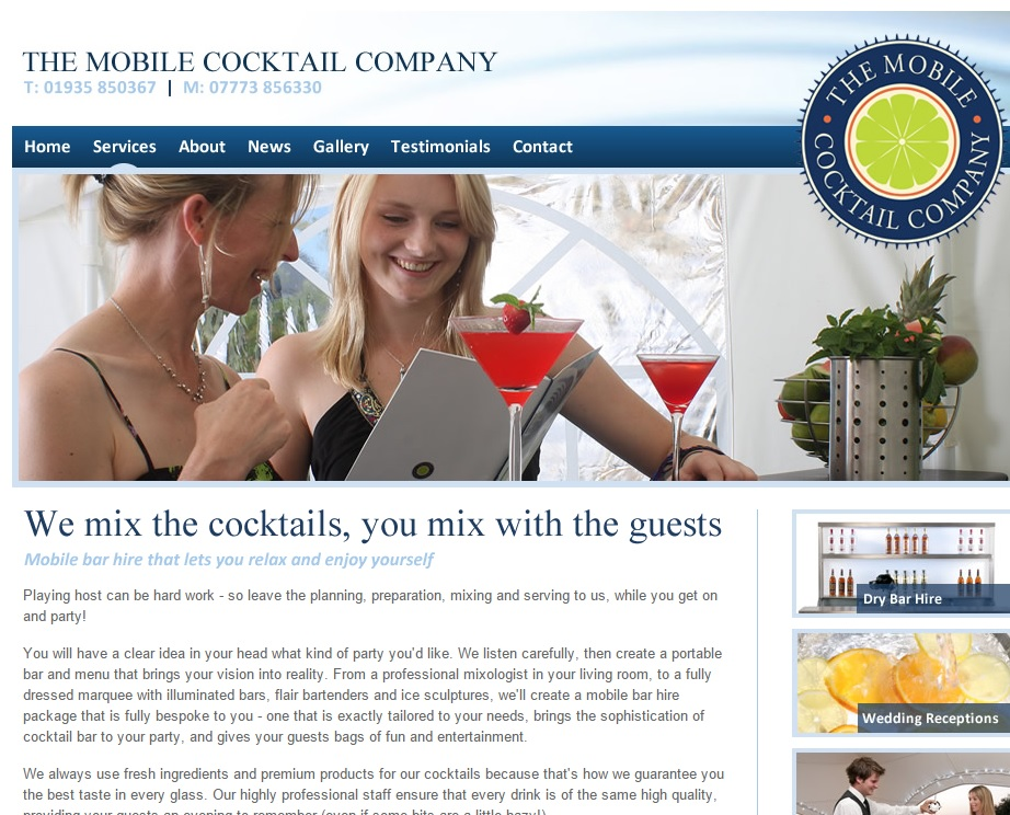 Mobile Cocktail Company private party