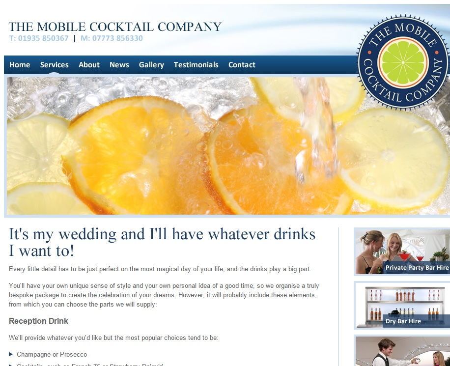 Mobile Cocktail Company weddings
