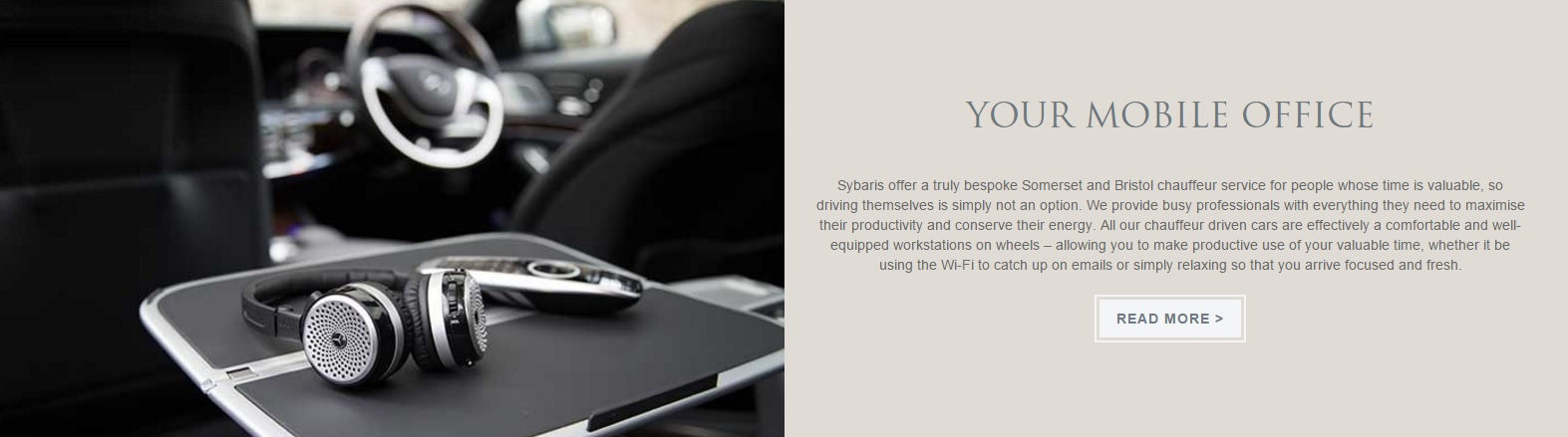 Sybaris mobile office