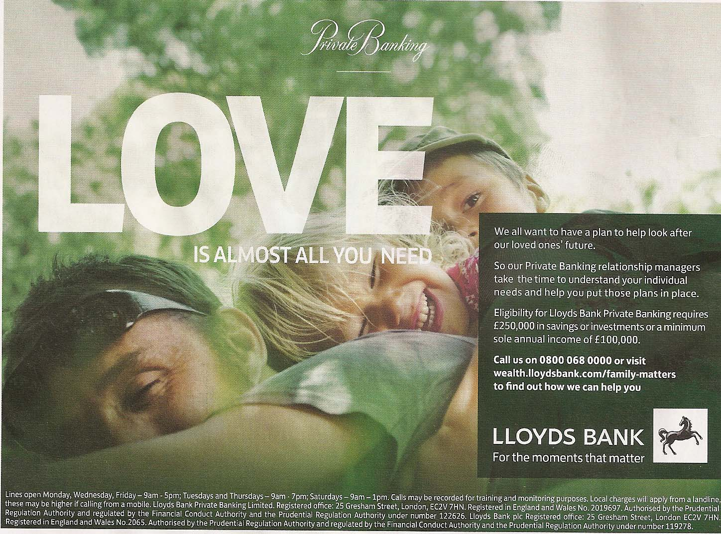 Moments that matter - Lloyds Bank\'s clumsy attempts to connect ...