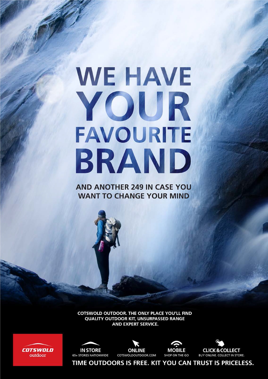 WATERFALL FAVOURITE BRAND